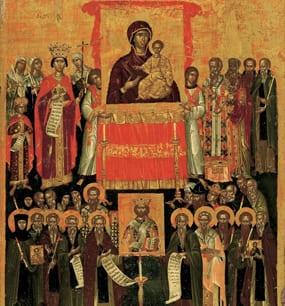Праздник в честь победы над иконоборцами Святых отцев VII Вселенского собора 27 октября