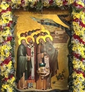 Празднование Собора Архангельских и Соловецких святых - 1 ноября