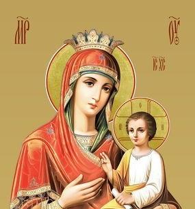 """Празднование в честь иконы Божией Матери, именуемой """"Скоропослушница"""" - 22 ноября"""