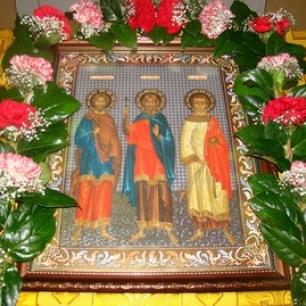 День памяти мчч. Гурия, Самона и Авива - 28 ноября