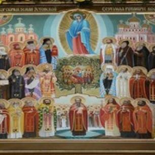 Празднование Собора святых Эстонской земли (Александр Невский, Иоанн Кронштадтский) - 1 декабря