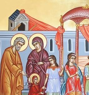 Празднование Введения во храм Пресвятой Богородицы - 4 декабря