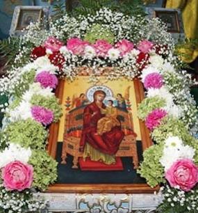 Празднование в честь Собора Пресвятой Богородицы - 8 января