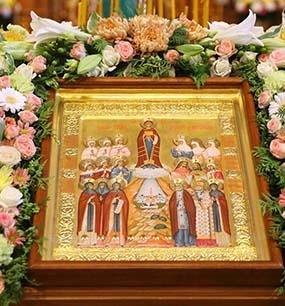 Празднование Собора Дивеевских святых - 27 июня