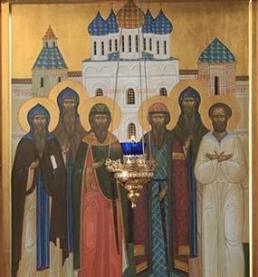 Празднование Собора Псковских святых - 11 июля
