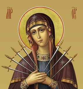 Празднование иконы Божией Матери, именуемой «Семистрельная» («Умягчение злых сердец») - 26 августа
