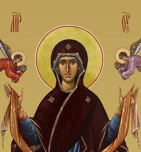 Положение честного Пояса Пресвятой Богородицы - 13 сентября