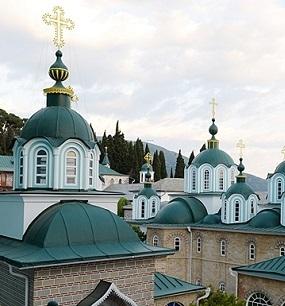 Афон. Пантелеимонов монастырь