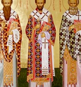 Собор вселенских учителей и святителей Василия Великого, Григория Богослова и Иоанна Златоустого - 12 февраля