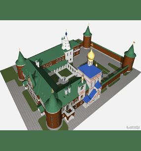 Женский монастырь Арсеньевской Епархии