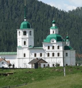 в Сретенский монастырь
