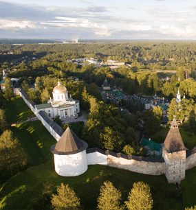 в Псково-Печерский монастырь
