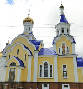 в Свято-Пантелеимоновский монастырь
