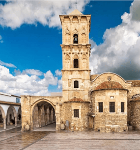 в Храм и гробницу Святого Лазаря на Кипре