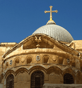 в Храм Гроба Господня в Иерусалиме