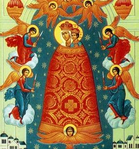 """у иконы Божией Матери """"Прибавление ума"""""""