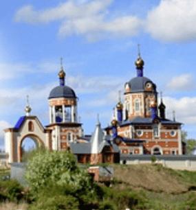 в Жадовский мужской монастырь