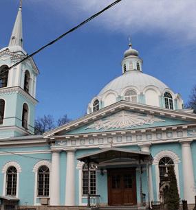 Храм Смоленской иконы Божией Матери на Смоленском кладбище в СПб