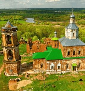 в Успенский Шаровкин женский монастырь