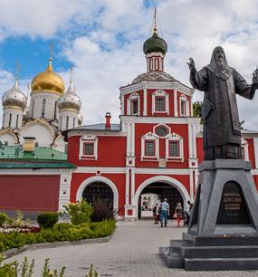 в Зачатьевский женский монастырь