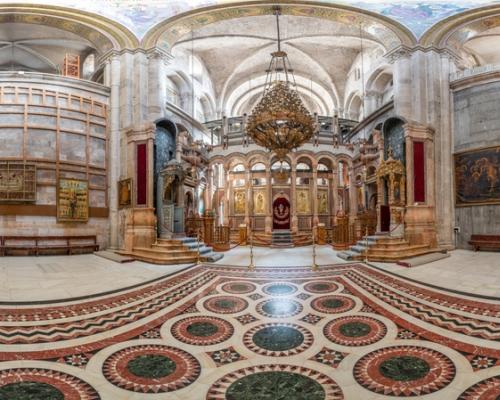 Храм Гроба Господня в Иерусалиме. 3d тур. Кафоликон