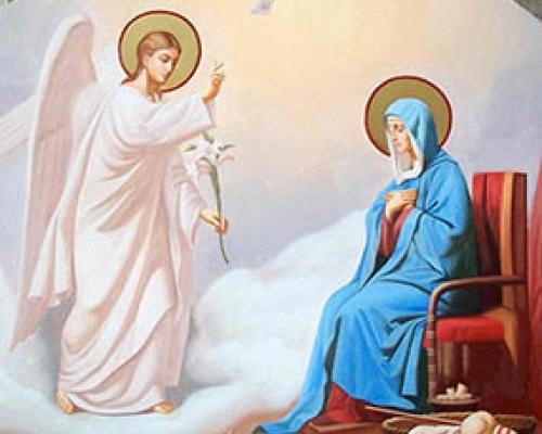 7 апреля Благовещение Пресвятой Богородицы