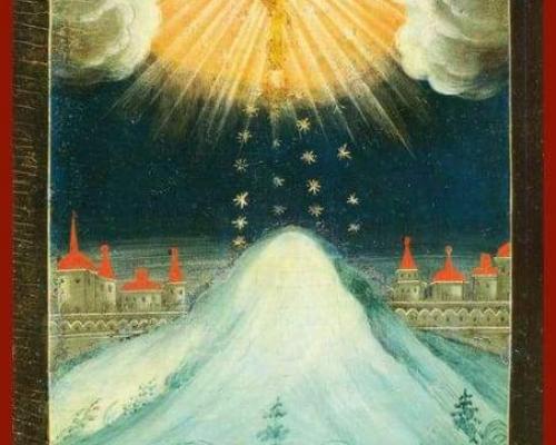 Воспоминание явления на небе Креста в Иерусалиме