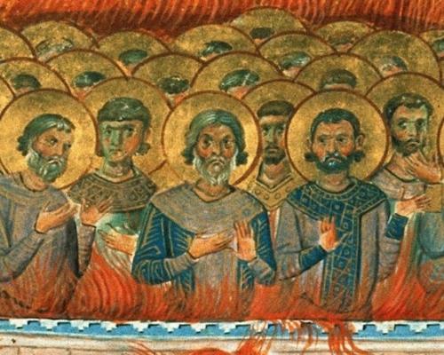 День памяти святых мучеников 1003, в Никомидии пострадавших