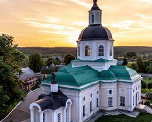 Мужской монастырь Спаса Нерукотворного пустынь с. Клыково