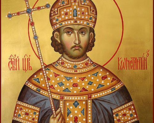 Равноапостольный Константин Великий