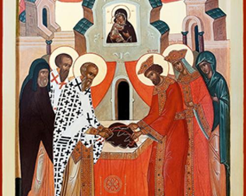 Положение честной ризы Пресвятой Богородицы во Влахерне (V)