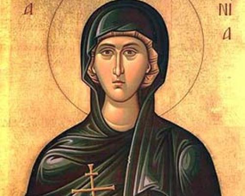 Преподобномученица Евгения Римская