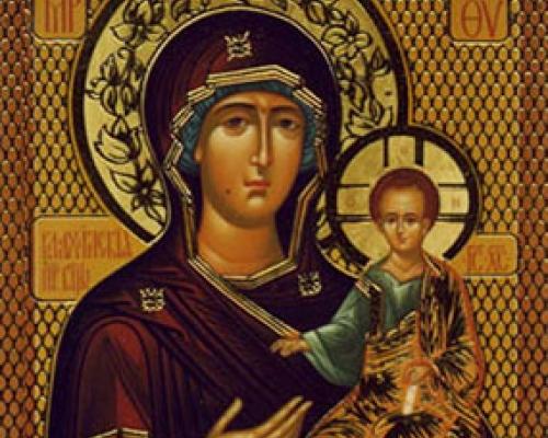 Икона Богородицы Влахернская