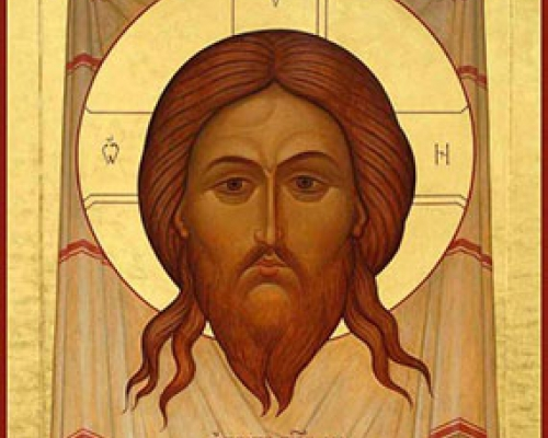 Перенесение из Едессы в Константинополь Нерукотворного Образа (Убруса) Господа Иисуса Христа