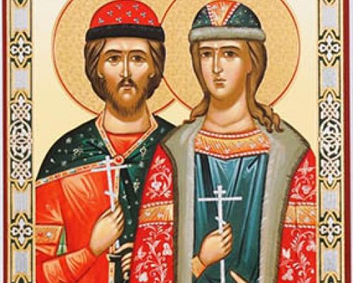 Святые мученики Борис и Глеб