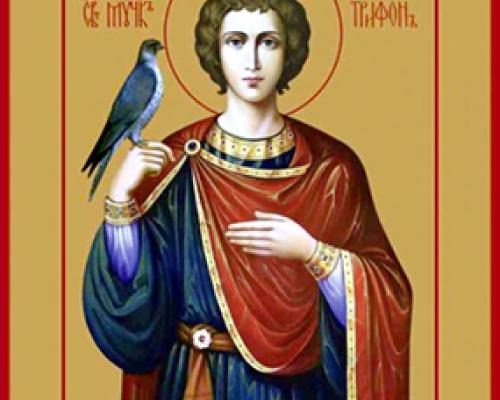 Мученик Трифон Апамейский, Никейский