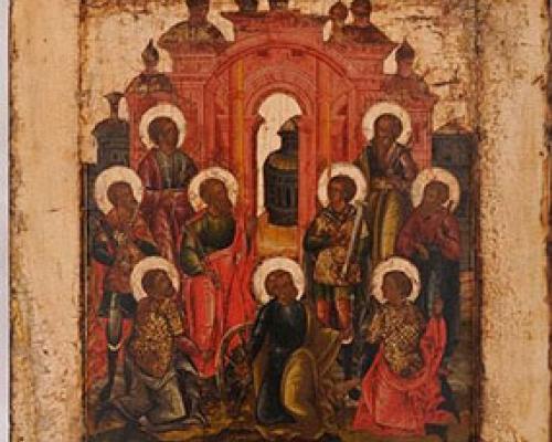 Девять святых мучеников Кизических: Феогнид, Руф, Антипатр, Феостих, Артема, Магн, Феодот, Фавмасий и Филимон