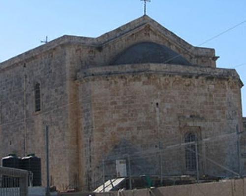 Обновление храма Георгия Победоносца в Лидде