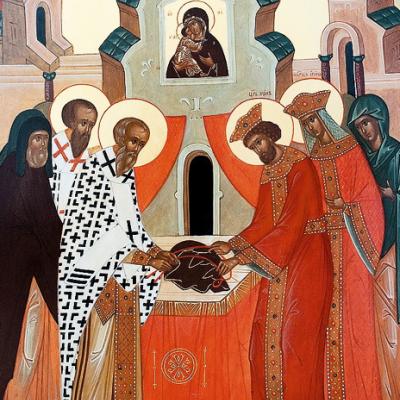 15 июля - День памяти положения честной ризы Пресвятой Богородицы во Влахерне