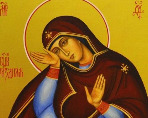 Иконы Божией Матери. Почитая образ, не забывать о Первообразе
