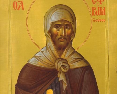 Преподобный Ефрем Сирин. Подвижник и просветитель