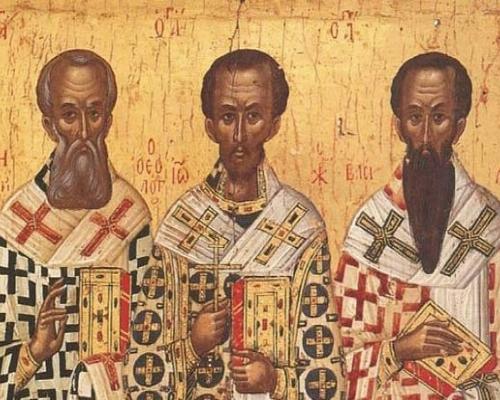 Василий Великий, Григорий Богослов, Иоанн Златоуст. Три столпа Православия