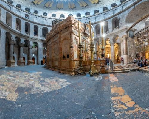Храм Гроба Господня в Иерусалиме. 3d тур. Кувуклия. Зал Упокоения