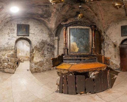 Храм Гроба Господня в Иерусалиме. 3d тур. Придел Иосифа Аримафейского